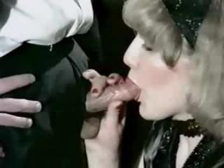 Porno Video of Vintage Retro Compilation Of Cumshots With These Babes Getting Them All