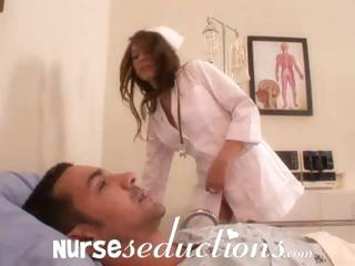 Porno Video of Brunette Lexi Bloom Nurses Her Patient Marco With A Blowjob And Fuck