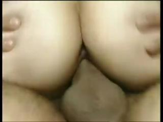 German dude fucks a hairy mature and leaves a deposit in her pussy
