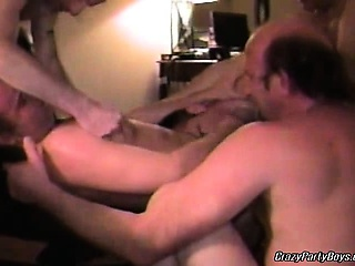 Hot and nasty dudes are having great gay group sex. See