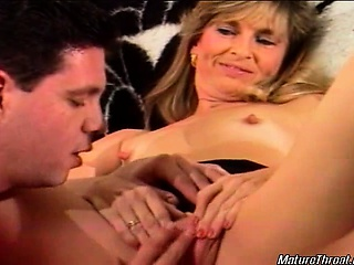 Very hot and classy mature blonde slut is still capable of
