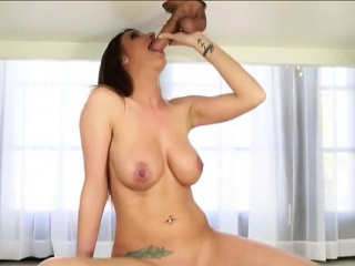 Huge Boobs Whore Gives Cum Facialed...
