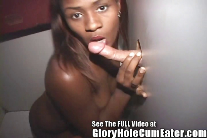 Porno Video of Ebony Girl Using Her Tongue Ring In The Gloryhole