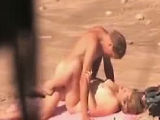 Horny nudists caught on voyeur camera...