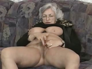 Sex Movie of Granny Fingers