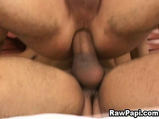 Gay Latin First bareback