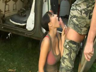 Porno Video of Army Big Beautiful Natural Boobs