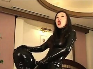 Japanese Femdom In Leather