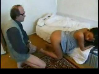 Porn Tube of Arab Girl With Old Man