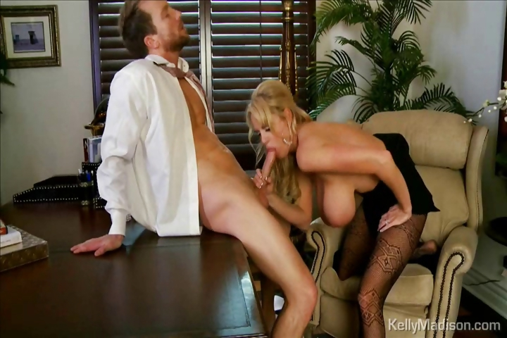 Porno Video of Busty Boss Sucks Cock In Her Office