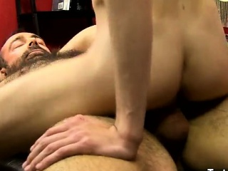 Gay clip of Benjamin Riley has been pimped out by his teache