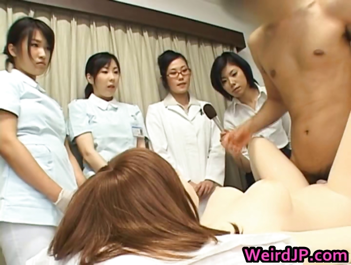 Porn Tube of Asian Female Hospital Workers Part5