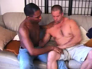 Sweet Gay Interracial Cock Sucking