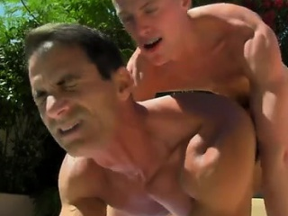 Gay twinks With the boys spunk cascading down his suntanned