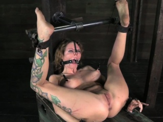 Bonded Mouth Gagged Bitch Being Humiliated...