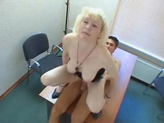 Sex Movie of Granny Adores Cock