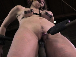 Mouth spider gagged skank brutally humiliated by maledom