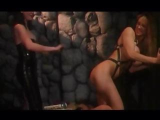 Sex Movie of Stacked Slavegirl Living Through The Kinky Pleasures Of Lezdom