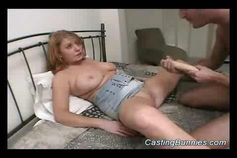 Porn Tube of Casting A Busty Hot Bunny Sex