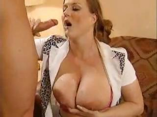 Porn Tube of Busty German Gal Eats Up That Cock To Fuck And Get A Mouthful