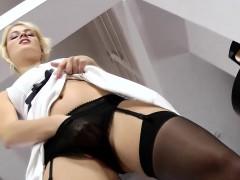 Порно подвязки видео