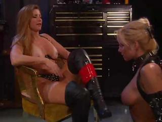 Sex Movie of Two Lesbians Act Out Some Bondage And Fuck With A Strapon