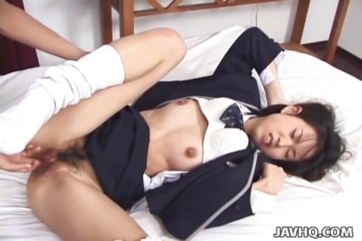 Porno Video of Japanese Schoolgirl Fucking In Classy Uniform