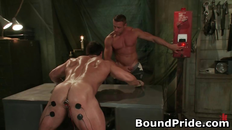 Porn Tube of Tyler And Vince Hunky Muscle Gays Part3