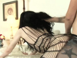 Shemale facializes sissy after fuck