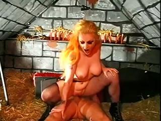 Porno Video of Vampire Hoochie Sucks The Life Out Of Her Fuck Buddy Through His Cock