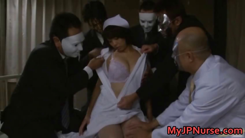 Porno Video of Asian Nurse Has Hardcore Sex Part3