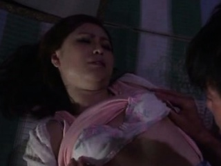 Japanese mature chick goes for a nasty sex trip outdoor