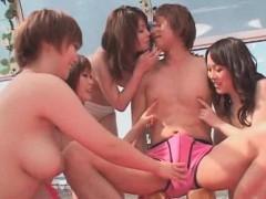 Аниме порно с грудастой одноклассницей