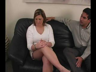 Sex Movie of Blonde Office Worker Haley Wants A Promotion But Has To Get Spanked