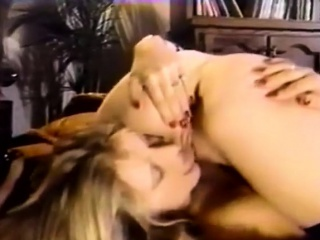Classic Lesbian Pussy Action