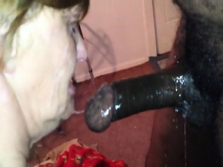 Cock ebony slut white