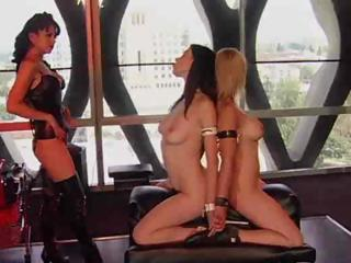 Porno Video of Two Hot Babes Get Tied Up And Tortured In This Bdsm Video