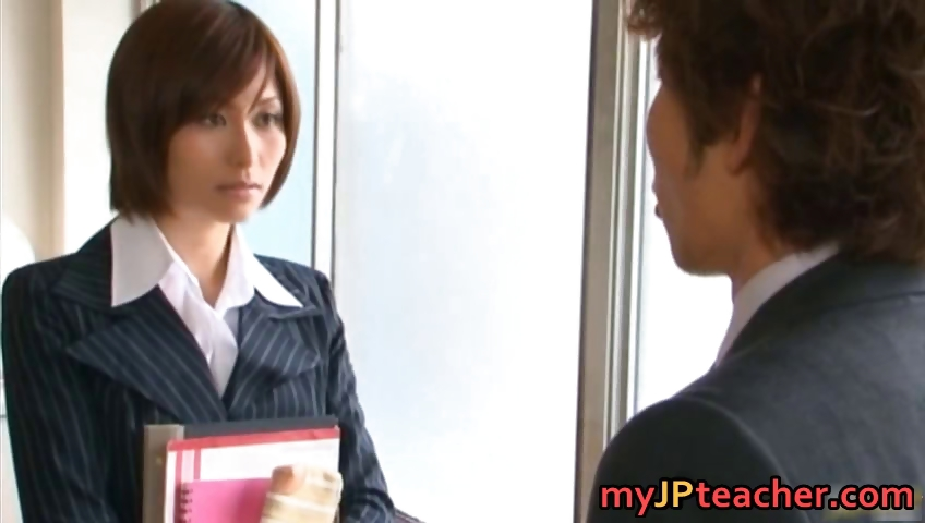 Porn Tube of Akari Asahina Japanese Teacher Is Ready Part6