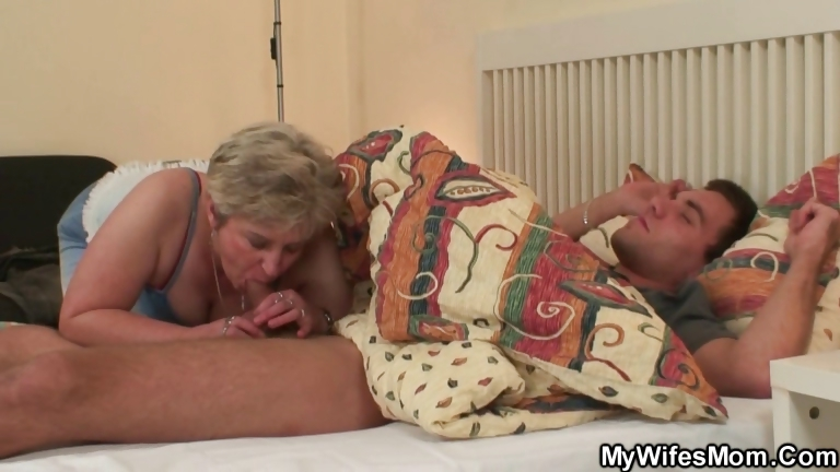 Porno Video of Cock Hungry Granny Fucks Her Son In Law