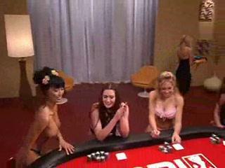 carmen electra naked poker
