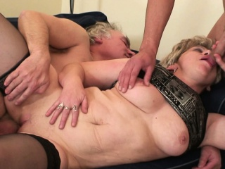 granny double vaginal