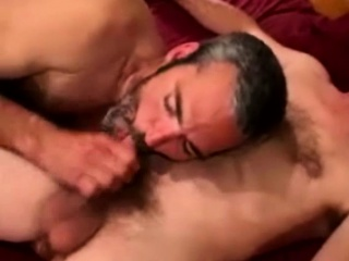 Amateur Straight Bear First Time Blowjob...