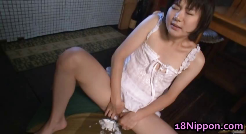 Porn Tube of Cute Asian Teen Stuffing Her Pussy Part2