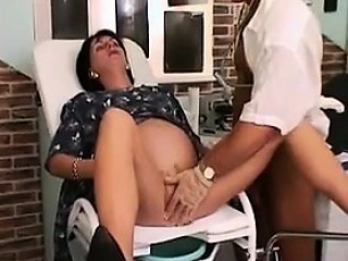 Pregnant Woman Wants The Doctor To Bang...
