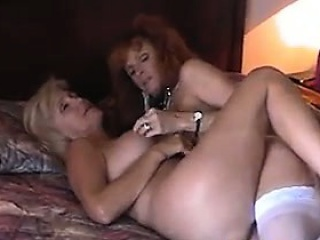 Mature Lesbian Licking Her Friends Pussy