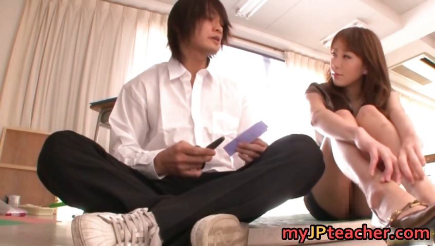 Porn Tube of Arisa Sawa Naughty Asian Teacher Part5