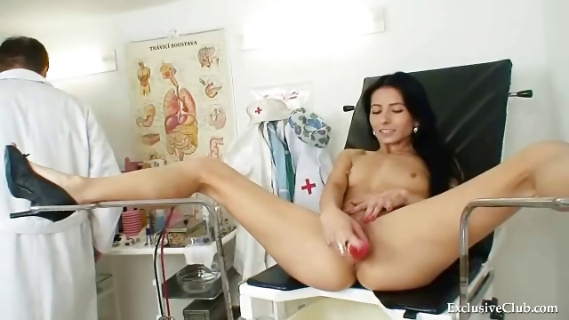 Porno Video of Hot Latina Kinky Gyno Exam With Speculum Tool