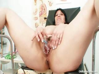 Porno Video of Big Tits Plump Milf Zora Hairy Pussy Inspection