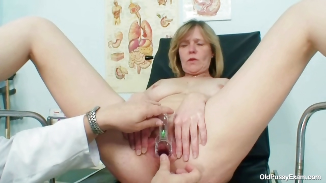 Porn Tube of Big Tits Milf Agnesa Perverted Pussy Examination