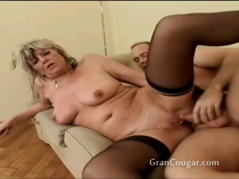 Porno Video of Old Granny Gets Her Pussy Fucked In Multiple Positions